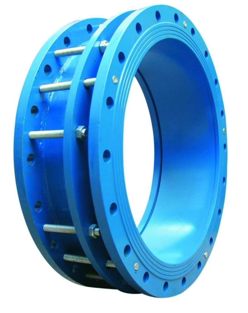 钢制伸缩器生产现场