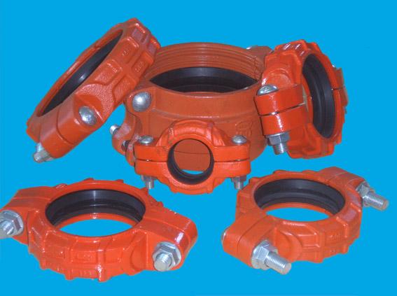 J型卡箍式柔性管接头